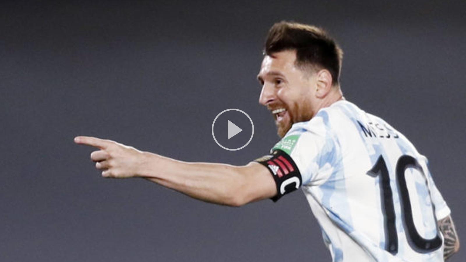 بالفيديو...ميسي يقود الأرجنتين للانتصار على الأوروغواي  في تصفيات أميركا الجنوبية لمونديال قطر