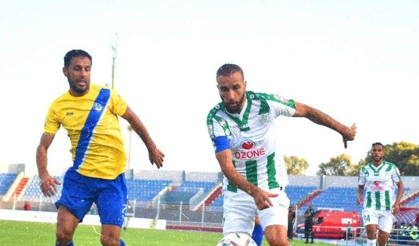 الدفاع الجديدي ينتزع فوزًا صعبًا من الشباب السالمي بالدوري المغربي