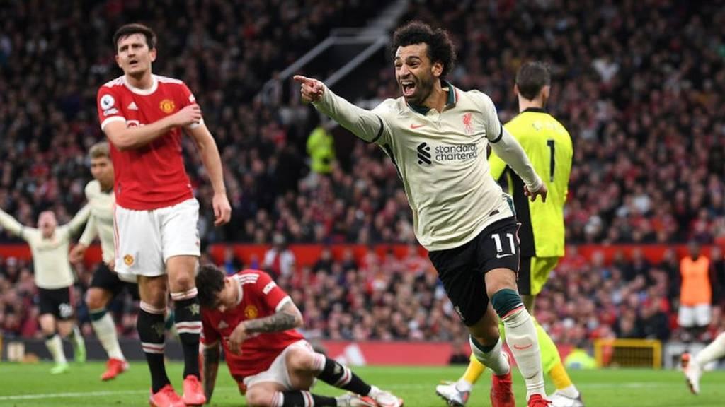 محمد  صلاح يقود ليفربول لفوز تاريخي على مانشستر يونايتد بخماسية