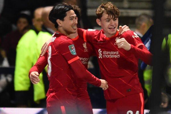 كأس الرابطة الإنكليزية للمحترفين: ليفربول لربع النهائي بفوزه على بريستون 2 - 0